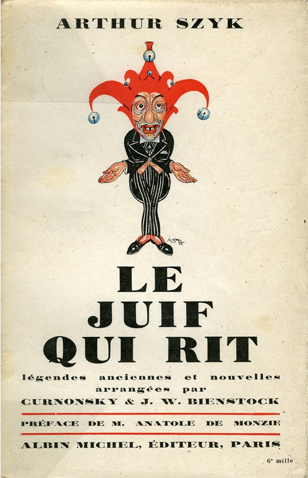 Cover for Le Juif Qui Rit (The Laughing Jew), 1925
