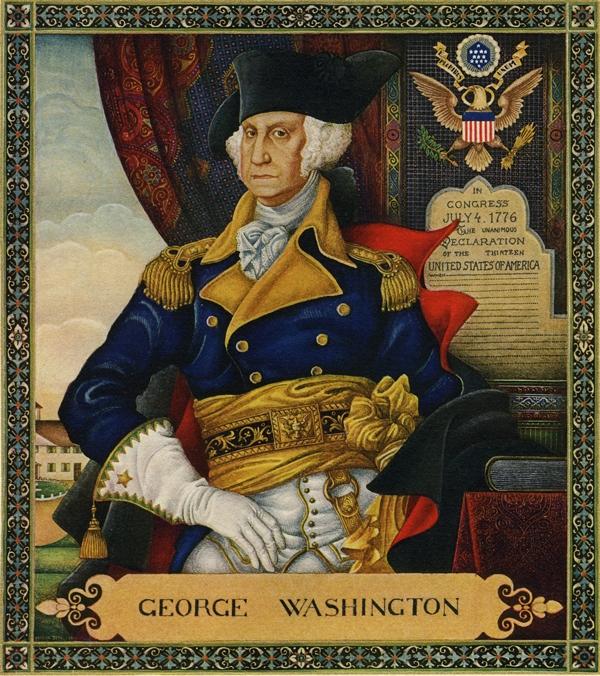 George Washington from Washington and His Times, 1932