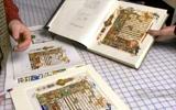 Comparing Prints to Original Haggadah Art & 1940 Vellum Edition.