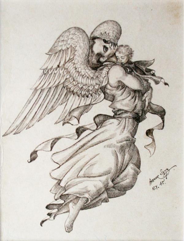 The Angel, Andersen's Fairy Tales. New York, 1945.