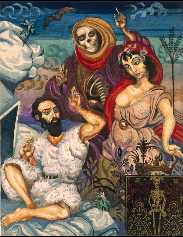 Illustration from Le Tentation de Saint Antoine. Paris, 1926.
